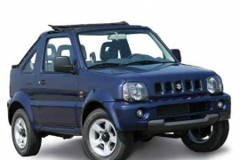 Car Rental Category 7.E  Jimny 4x4