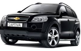 Car Rental Category U Captiva 4x4