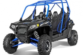Car Rental Category 3.Polaris buggy for 4 people.
