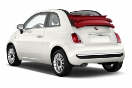 Car Rental Category 3. L Fiat 500 cabrio